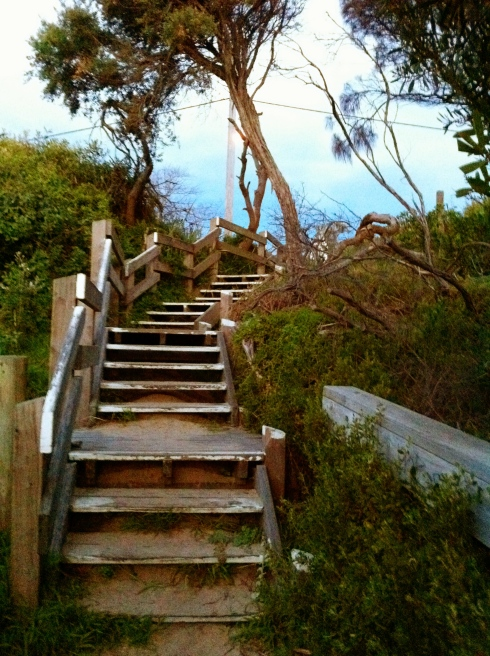 Below: The Stairs, Photo: Warrick